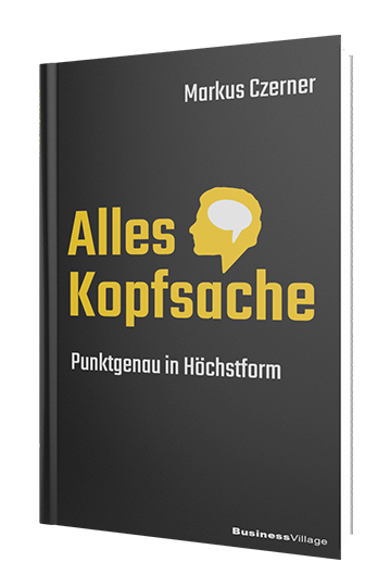 Der Bestseller von Markus Czerner: Alles Kopfsache